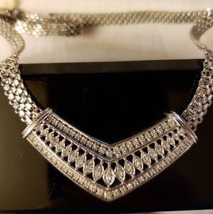 Jewelry - Diamond Chevron Necklace